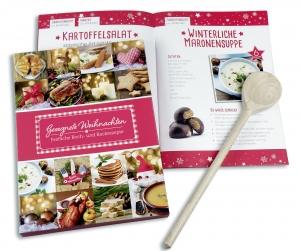 Weihnachts-Set - Rezeptbuch & Kochlöffel