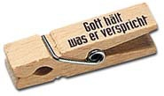 Holzklammer