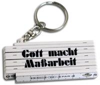 Schlüsselanhänger Mini-Zollstock