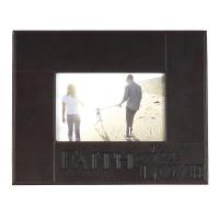 Bilderrahmen Faith/Hope/Love