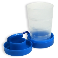Outdoor-Trinkbecher blau