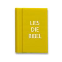 Radiergummi Buch | gelb