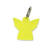 Schlüsselanhänger Engel   gelb