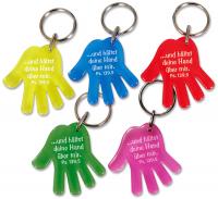 Schlüsselanhänger Hand | pink