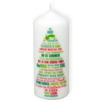 Kerze - Weihnachtsgeschichte