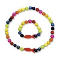 Kinder-Holzkette mit Armband